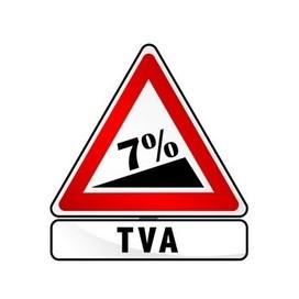 TVA réduite 7%