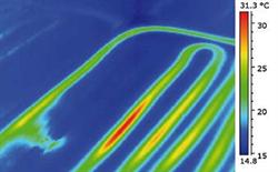 thermographie conduite fuite