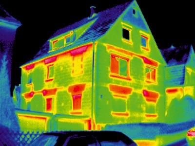 thermographie permet de d tecter les pertes de chaleur. Black Bedroom Furniture Sets. Home Design Ideas
